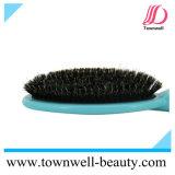 Escova misturada profissional da caraterística do coxim da cerda do varrão para o cabelo com função iónica & resistente ao calor