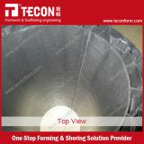 Tecon runde Spalte-Plastikverschalung für Beton