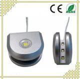 Módulo de clip de vidro LED e iluminação para vidro de espessura de 3-8 mm.