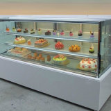 0-5 холодильник индикации мраморный торта вертикального угла степени белый