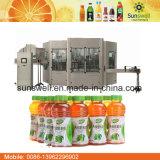 Machines mis en bouteille de jus de canneberge