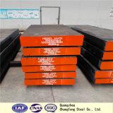 Aço quente 1.2344/H13/8407 do trabalho do aço de ferramenta