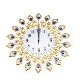 Европейские высокосортные часы стены спальни тиши цветка