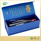 Коробка упаковки подарка бутылки вина при фольга штемпелюя и выбивает (CKT- CB-789)