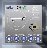 Robinet fixé au mur automatique HD513DC de bassin de salle de bains de robinet d'eau de détecteur