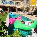 Sofa gonflable campant extérieur rapide portatif d'air de la présidence 3seasons