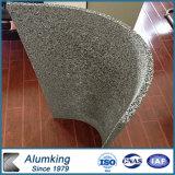 Espuma del aluminio de la granulación de madera y de la madera de cabina de pared