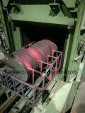 Höhenflossenstation, die Sägen für metallschneidendes aufschlitzt.