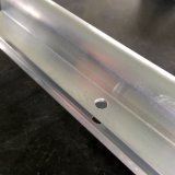 Perfil de aluminio irregular para el marco de la máquina