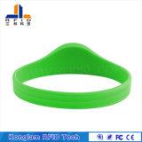 Bracelet ultra à haute fréquence de silicones d'IDENTIFICATION RF pour baigner des centres