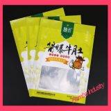 Gedruckten Plastikverpacken- der Lebensmittelbeutel mit freiem Fenster kundenspezifisch anfertigen