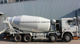 Shacman 16立方メートルのセメントのトラックトラック45トンのミキサーの