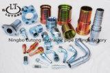 Mâle de Jic adaptateur hydraulique de 74 de degré de té garnitures de pipe