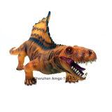 Brinquedo elevado personalizado do dinossauro da simulação para a promoção