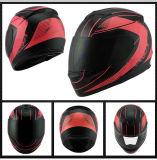 オートバイの安全白い乗馬の安全ヘルメット