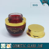 50ml farbiges Sahneglasglas