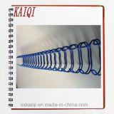 Alambre doble del espiral del metal del atascamiento de libro para el cuaderno