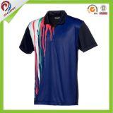 カスタム昇華Tシャツ、昇華ポロのTシャツ、印刷されたポロ