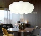현대 현탁액 점화는 집으로 만든다 아크릴 LED 구름 펀던트 램프를 꾸민다