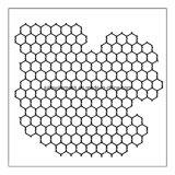 工場家禽の六角形の金網の網