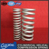 Спиральная пружина обжатия оптовой продажи цилиндрически спирально