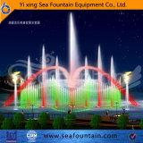 Fonte de flutuação ao ar livre decorativa leve da música do diodo emissor de luz