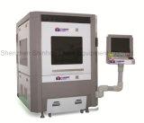Máquina de estaca plástica de vidro do laser da fibra do CO2 automático do CNC