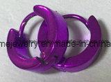Boucle d'oreille en gros de bijou d'acier inoxydable (ER2619)