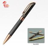 Penna del rullo della penna di sfera del metallo dell'oro per i regali di affari