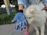 2 in 1 fünf Finger Deshedding Haustier-Pflegenhandschuh