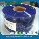 6mm Stärken-antistatischer blauer glatter Vinyl-Belüftung-Tür-Vorhang-Streifen Rolls