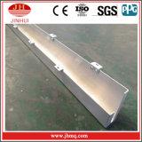 El canal de J revela el panel de aluminio de la esquina exterior para la decoración exterior
