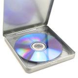 Eingehängtes Zinn und DVD Fall