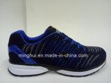 新しいスポーツは方法人の靴の女性のスポーツの靴に蹄鉄を打つ