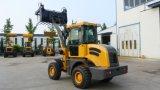 Precio del cargador de la rueda de la capacidad del compartimiento del cargador popular de la rueda de 1.6 toneladas mini barato