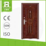 실내 단단한 나무로 되는 문은 늦게 강철 안전 문을 디자인한다