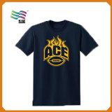 SGS certificado algodón personalizado camiseta de los hombres con la impresión de logotipo (JAM-75)