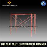 Échafaudage de construction de bâti principal