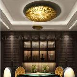 Lámpara de interior popular del techo del color de plata al por mayor LED