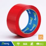 OEM Band van de Verpakking BOPP van de Rode Kleur de Zelfklevende