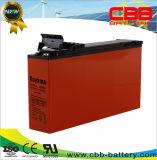 12V vendedores superiores 150ah adelgazan la batería delantera del AGM de la terminal de la dimensión de una variable