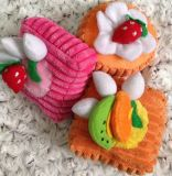Kuchen-Entwurf, der Hündchen-Spielwaren klingt