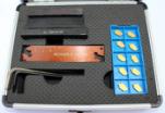 Coupure de Cutoutil cannelant la trousse d'outils