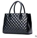 Nuove borse delle donne di modo del nero del cuoio di alta qualità di disegno