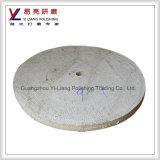 Roda redonda da estaca do aço inoxidável do sisal de pano