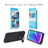 Caja elegante impermeable del teléfono de la alta calidad para la nota 5 de Samsung