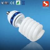 Media lámpara ahorro de energía del espiral 55W, bulbos compactos de la lámpara fluorescente CFL