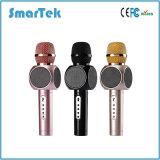 Karaoke сбывания KTV Smartek микрофон Bluetooth нового горячего беспроволочный с показателем поддержки диктора миниым для франтовского Телефон-Волшебства пеет вдоль микрофона E103 Karaoke