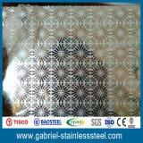 Precio inoxidable SUS304 316L de la hoja de acero del espesor decorativo de 3m m