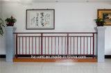Barandilla de acero galvanizada decorativa de alta calidad 24 del balcón de la aleación de Haohan Alluminum